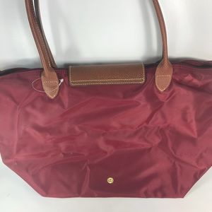 f8cf402b7085 Longchamp Bags - Beautiful longchamp le pliage large tote maroon
